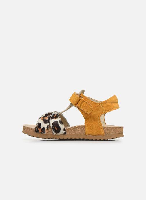 Sandalen Shoesme Bio Sandaal gelb ansicht von vorne