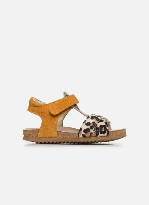 Sandalen Shoesme Bio Sandaal gelb ansicht von hinten