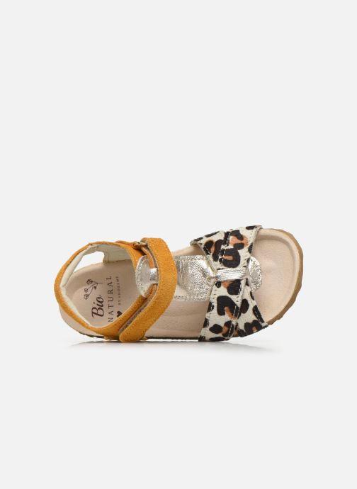 Sandalen Shoesme Bio Sandaal gelb ansicht von links