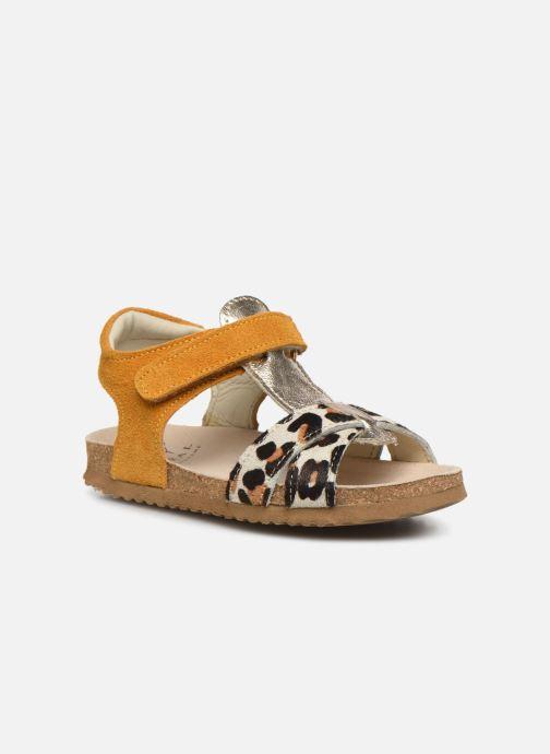 Sandales et nu-pieds Shoesme Bio Sandaal Jaune vue détail/paire