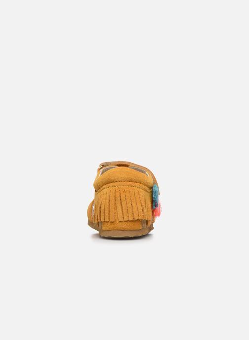 Sandalen Shoesme Bio Sandaal gelb ansicht von rechts