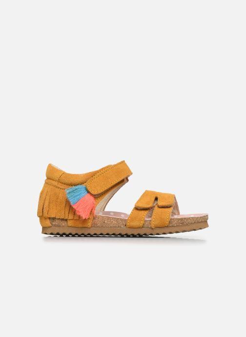 Sandales et nu-pieds Shoesme Bio Sandaal Jaune vue derrière