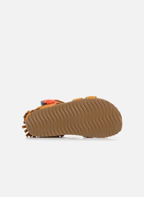 Sandales et nu-pieds Shoesme Bio Sandaal Jaune vue haut
