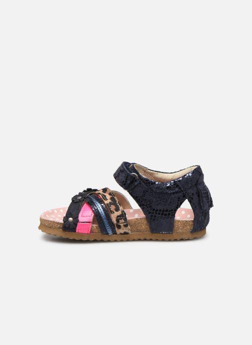 Sandales et nu-pieds Shoesme Bio Sandaal Bleu vue face