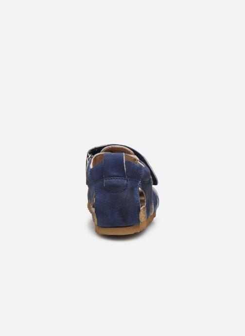 Sandales et nu-pieds Shoesme Bio Sandaal Bleu vue droite