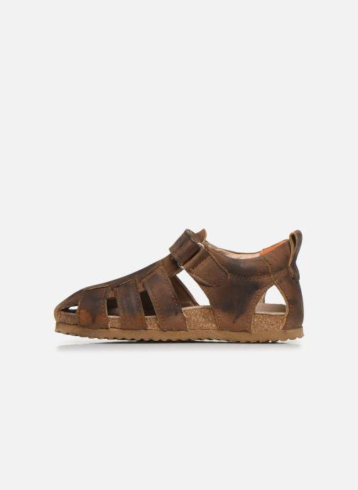 Sandales et nu-pieds Shoesme Bio Sandaal Marron vue face