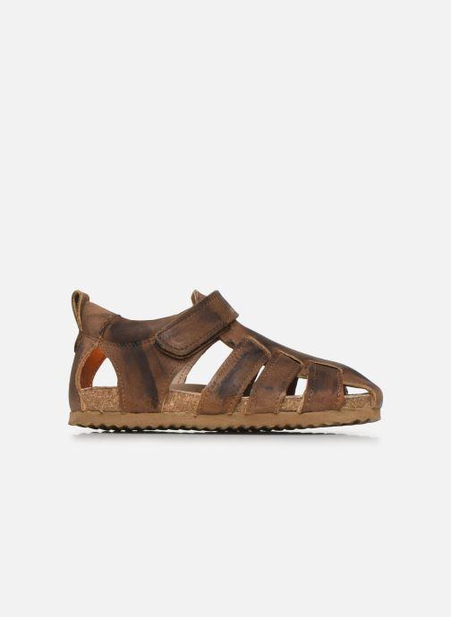 Sandales et nu-pieds Shoesme Bio Sandaal Marron vue derrière