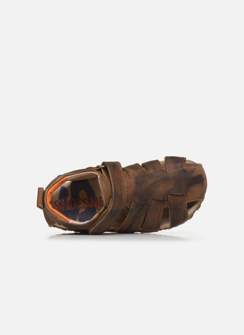 Sandales et nu-pieds Shoesme Bio Sandaal Marron vue gauche