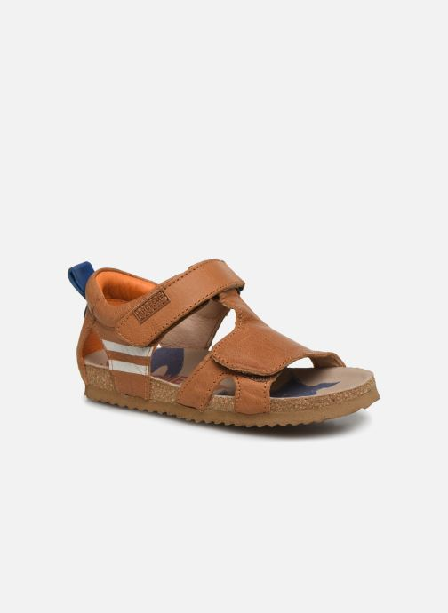 Sandales et nu-pieds Shoesme Bio Sandaal Marron vue détail/paire