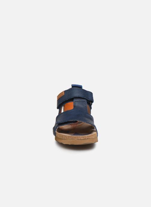 Sandali e scarpe aperte Shoesme Bio Sandaal Azzurro modello indossato