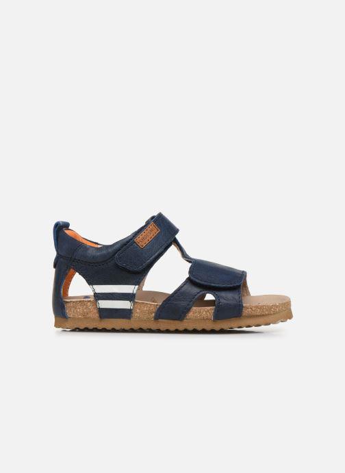 Sandales et nu-pieds Shoesme Bio Sandaal Bleu vue derrière