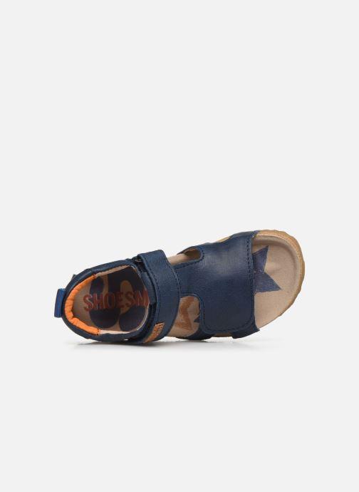 Sandales et nu-pieds Shoesme Bio Sandaal Bleu vue gauche