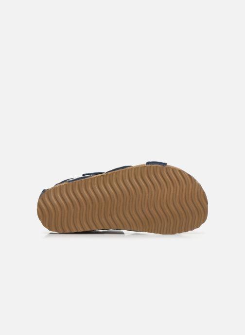 Sandales et nu-pieds Shoesme Bio Sandaal Bleu vue haut