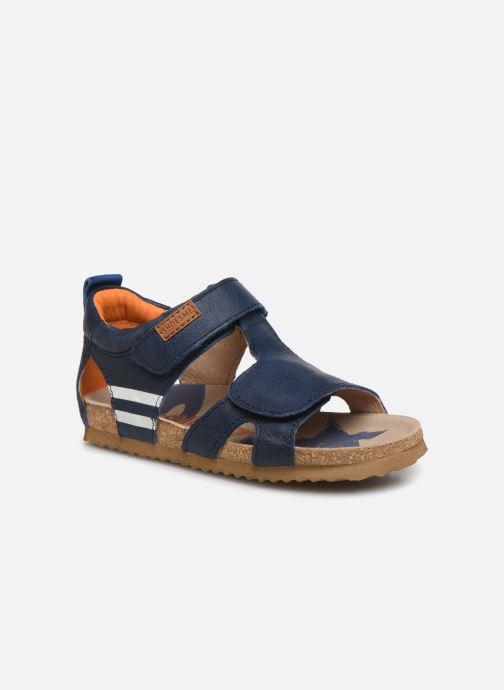 Sandales et nu-pieds Shoesme Bio Sandaal Bleu vue détail/paire