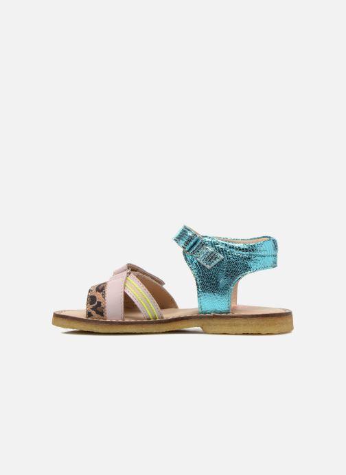 Sandales et nu-pieds Shoesme Meisjes Sandaal Leren Zool Multicolore vue face