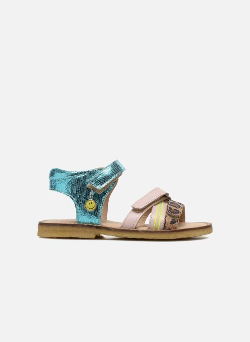 Sandales et nu-pieds Shoesme Meisjes Sandaal Leren Zool Multicolore vue derrière