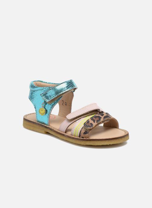 Sandales et nu-pieds Shoesme Meisjes Sandaal Leren Zool Multicolore vue détail/paire