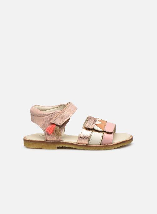 Sandales et nu-pieds Shoesme Meisjes Sandaal Leren Zool Rose vue derrière