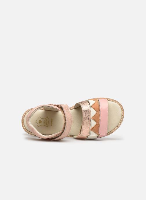 Sandales et nu-pieds Shoesme Meisjes Sandaal Leren Zool Rose vue gauche