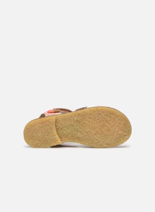 Sandales et nu-pieds Shoesme Meisjes Sandaal Leren Zool Rose vue haut
