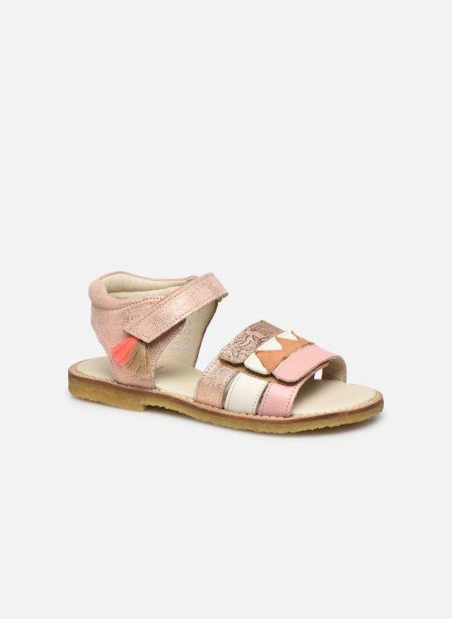 Sandales et nu-pieds Shoesme Meisjes Sandaal Leren Zool Rose vue détail/paire