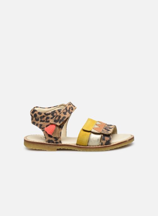 Sandales et nu-pieds Shoesme Meisjes Sandaal Leren Zool Marron vue derrière