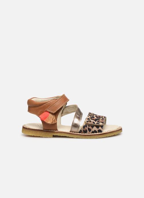 Sandali e scarpe aperte Shoesme Meisjes Sandaal Leren Zool Marrone immagine posteriore