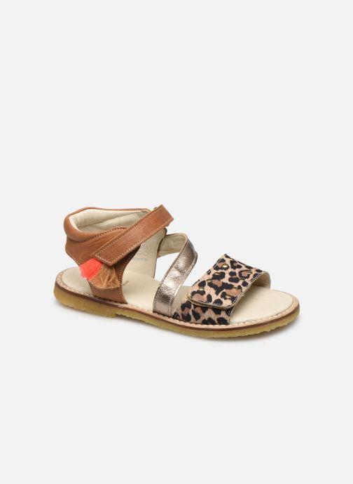Sandales et nu-pieds Shoesme Meisjes Sandaal Leren Zool Marron vue détail/paire