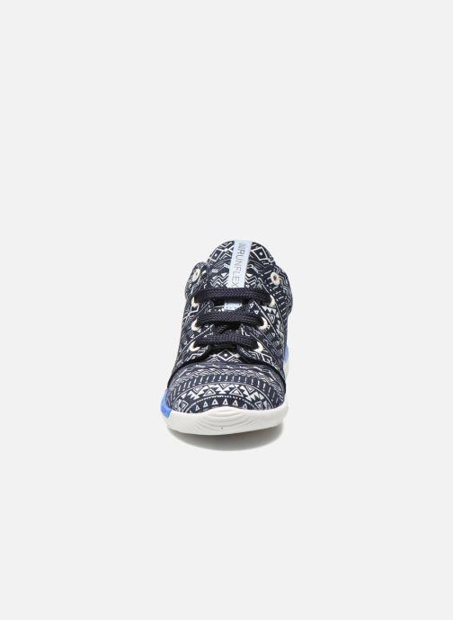 Sneakers Shoesme Run flex Azzurro modello indossato