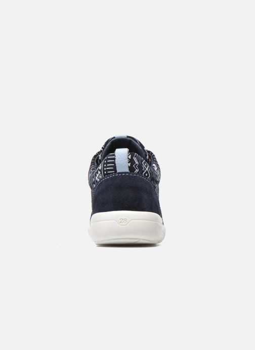 Trainers Shoesme Run flex Blue view from the right