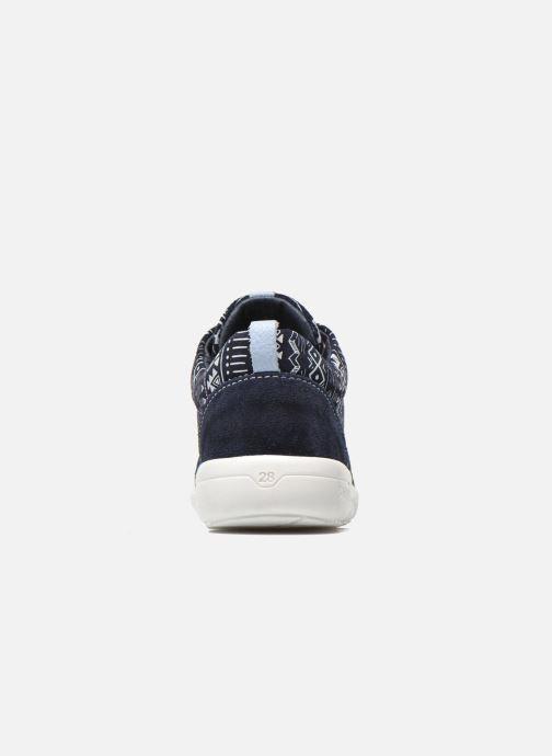 Sneaker Shoesme Run flex blau ansicht von rechts