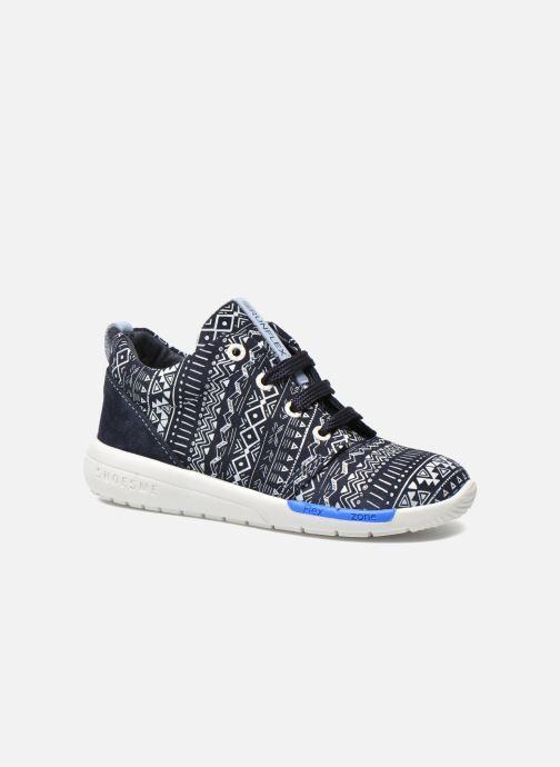 Deportivas Shoesme Run flex Azul vista de detalle / par