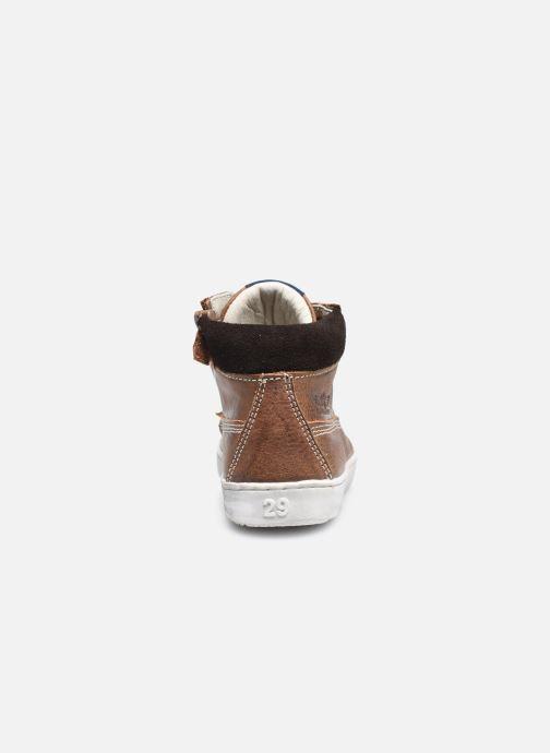 Sneaker Shoesme Urban braun ansicht von rechts