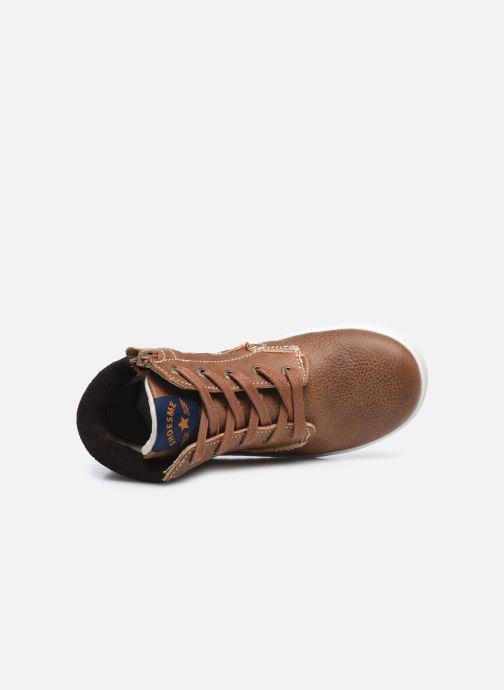 Sneaker Shoesme Urban braun ansicht von links