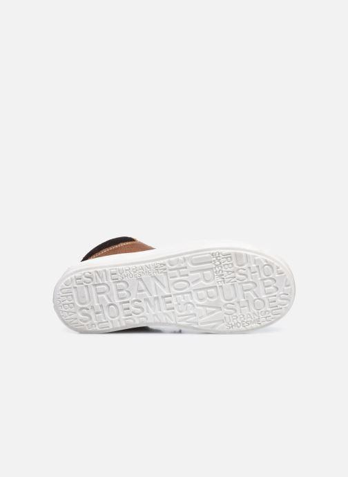 Baskets Shoesme Urban Marron vue haut