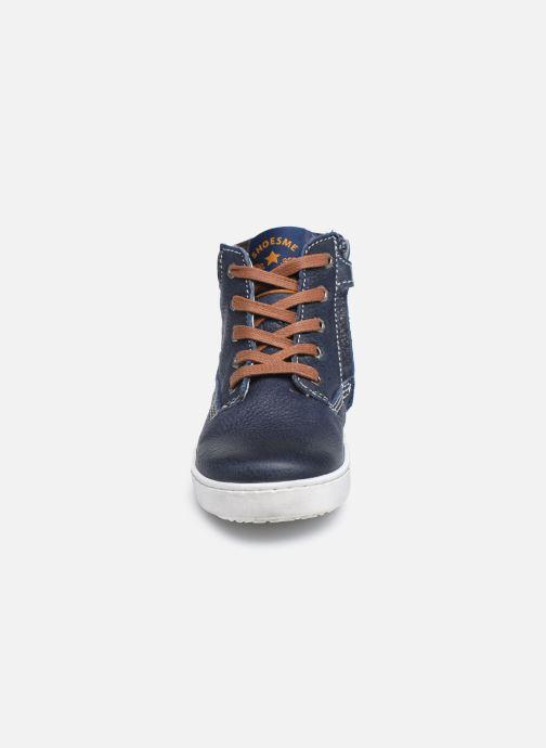 Sneakers Shoesme Urban Azzurro modello indossato