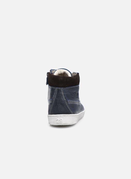 Sneaker Shoesme Urban blau ansicht von rechts