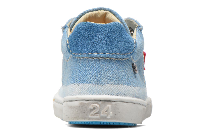 Baskets Shoesme Urban Bleu vue droite