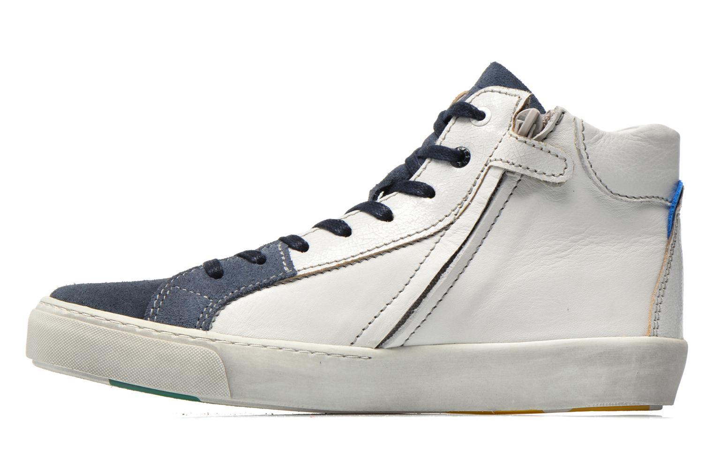 Baskets Shoesme Vulcan Bleu vue face