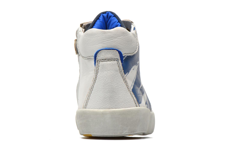 Baskets Shoesme Vulcan Bleu vue droite