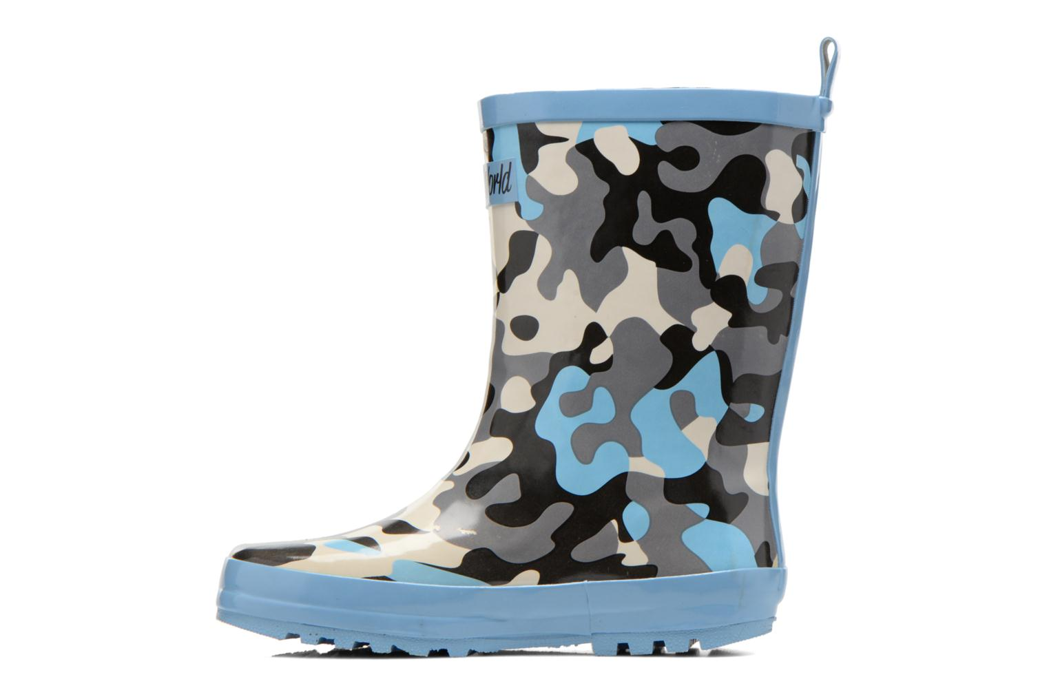 Boots & wellies Be Only Smiley Army Multicolor front view