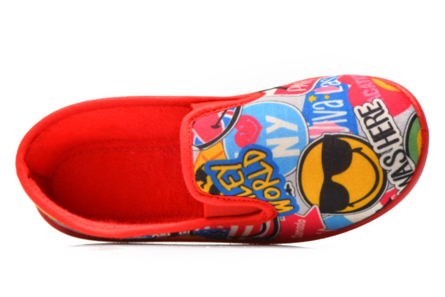 Chaussons Be Only Sans Gene Smiley Travel Multicolore vue gauche