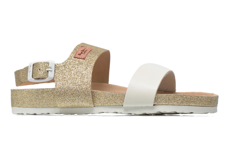 Sandales et nu-pieds Pepe jeans Bio Glitter Or et bronze vue derrière