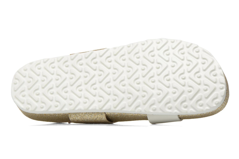 Sandales et nu-pieds Pepe jeans Bio Glitter Or et bronze vue haut