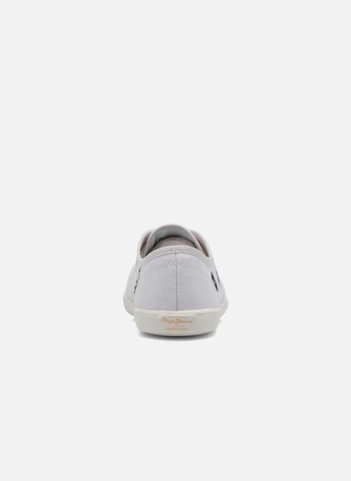 Sneakers Pepe jeans Soho Draw Bianco immagine destra