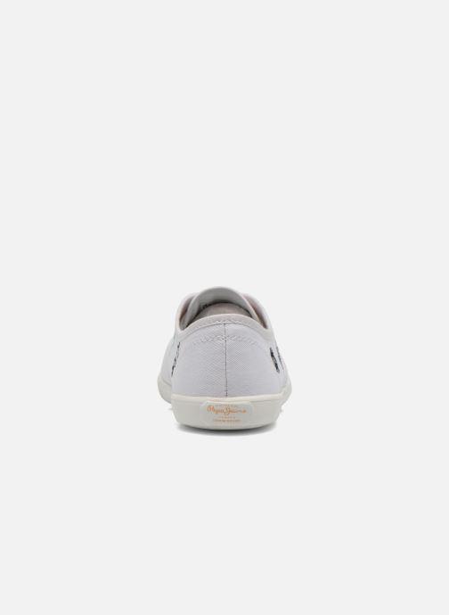 Sneaker Pepe jeans Soho Draw weiß ansicht von rechts