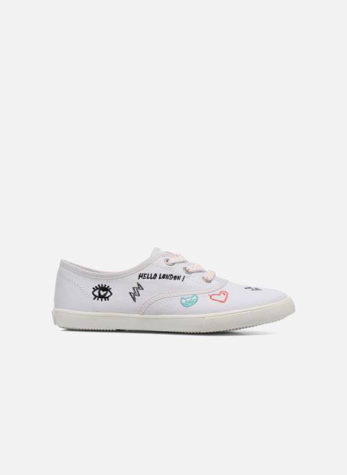 Baskets Pepe jeans Soho Draw Blanc vue derrière