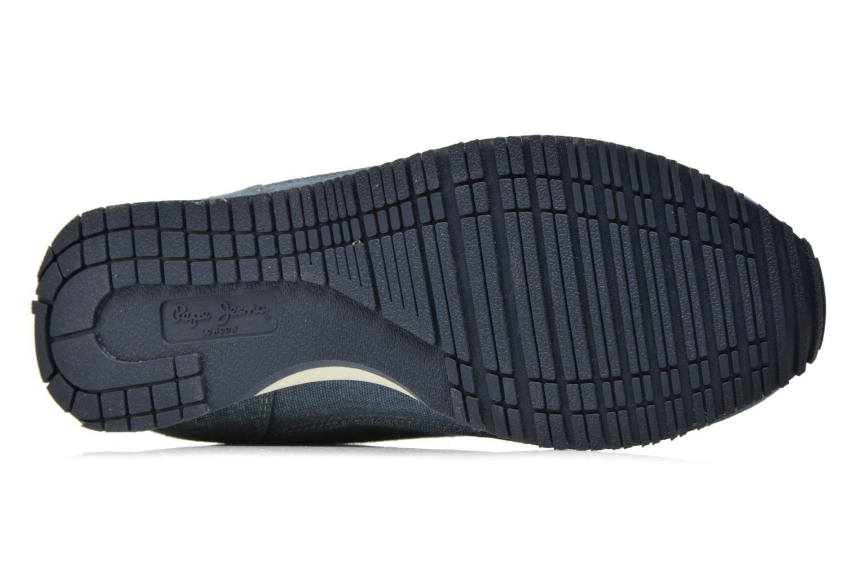 Sneaker Pepe jeans Sydney Canvas blau ansicht von oben