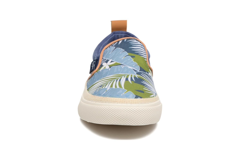 Baskets Pepe jeans Traveler Aloha Bleu vue portées chaussures