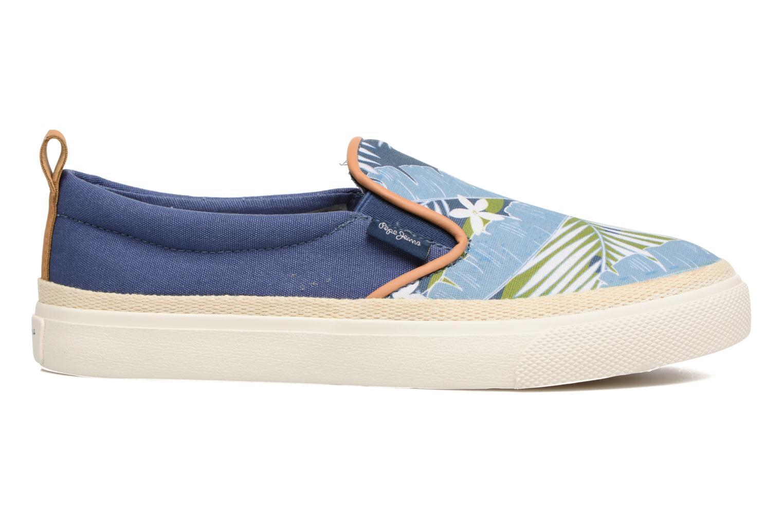 Baskets Pepe jeans Traveler Aloha Bleu vue derrière